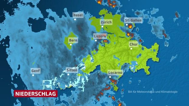 Niederschlagsradar Wetter Com