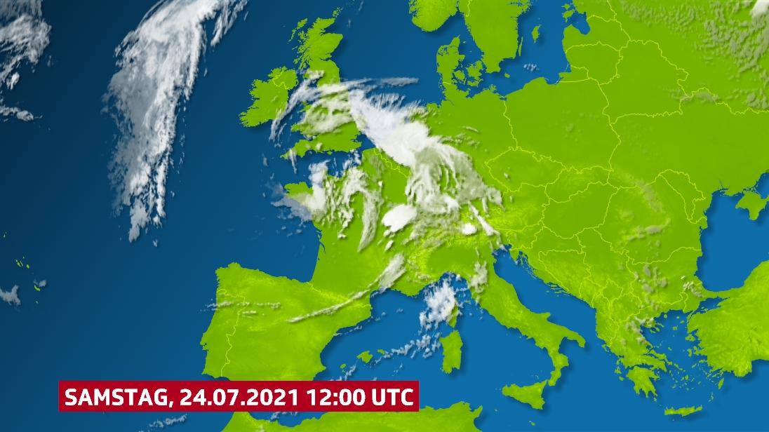 Satellitenbild vom Mittag.