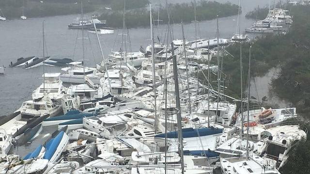 SRF News: Hurrikan in der Ostkaribik «Irma» wütet bereits – «Jose» und «Katia» sind im Anmarsch