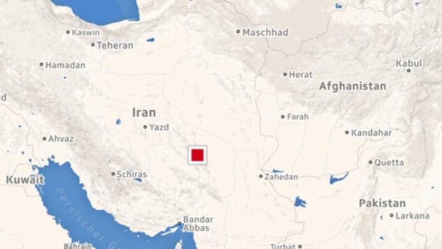 Iran wird wieder von starkem Erdbeben erschüttert