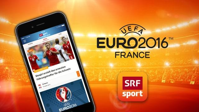 die uefa euro 2016 live auf ihrem smartphone sport srf. Black Bedroom Furniture Sets. Home Design Ideas