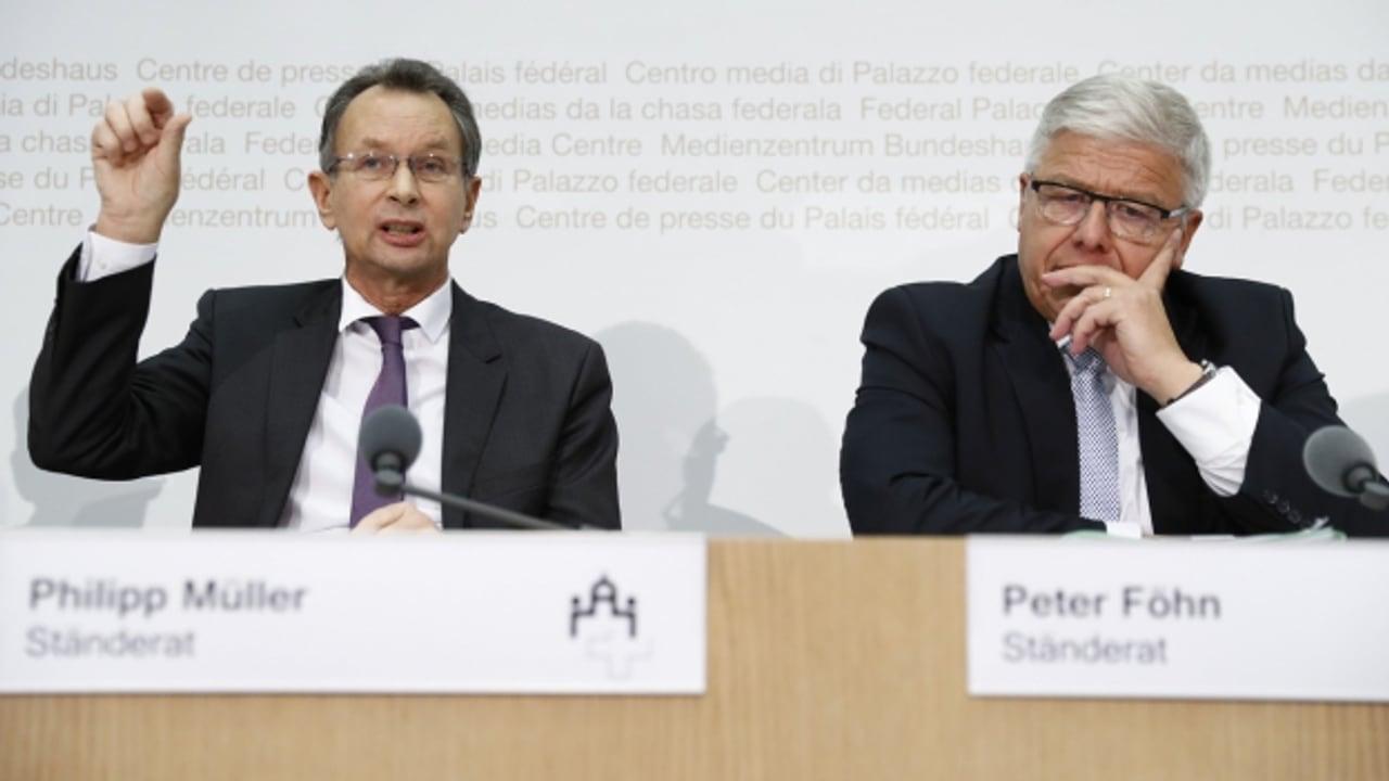Session - «Der Nationalrat nimmt den Verfassungsbruch