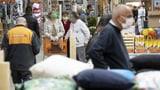 Jura und Waadt: Einkaufen nur noch mit Maske (Artikel enthält Video)
