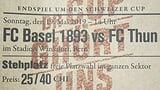 Muttenzerkurve verkauft eigene Tickets für Cupfinal (Artikel enthält Audio)