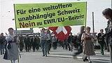 Das schweizerische Zaudern mit Europa
