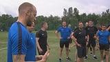Marc Gini trimmt Schweizer Hockey-Schiedsrichter fit (Artikel enthält Video)