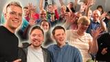 Drei Comedians, eine Handvoll Zuschauer und viele Lacher