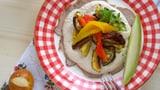 Antipasti Gemüse mit Vitello Tonnato & Melonen
