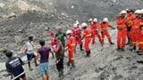 110 Tote nach Erdrutsch in Burma (Artikel enthält Video)