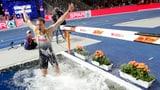 Deutschlands Speerwerfer baden im Glück (Artikel enthält Video)