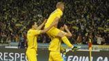 Ukraine als 5. Team für EURO qualifiziert (Artikel enthält Video)