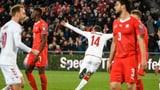 Schweiz verspielt sicher geglaubten Sieg (Artikel enthält Video)