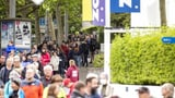 Grossandrang im Zoo Zürich nach der Wiedereröffnung (Artikel enthält Video)