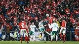 Die Schweiz spielt gegen Dänemark in Basel