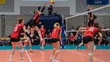 Schwierige Aufgabe für die Volleyballerinnen (Artikel enthält Video)