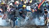 Fünf Morales-Anhänger getötet (Artikel enthält Video)