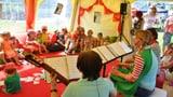 Cun RTR a la festa d'uffants a Laax (Artitgel cuntegn audio)