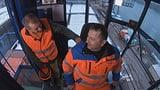 Sasa Radulovic und der Hafenkran für Schwergüter