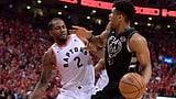Toronto dreht Serie gegen Milwaukee und schafft Premiere