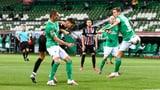 Eintracht doppelt im Jubiläums-Duell nach (Artikel enthält Audio)