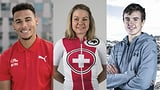 «SRF 3 Best Talent Sport»: Das sind die drei Nominierten