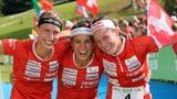 Frauen-Staffel holt Weltmeistertitel, die Männer Silber (Artikel enthält Video)