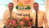 Gallati und Hürzeler sollen SVP-Regierungssitze verteidigen (Artikel enthält Audio)