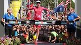 Trotz Quallenstich: Ryf triumphiert erneut auf Hawaii (Artikel enthält Video)