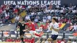 Die Schweiz bei der Auslosung der Nations League in Topf 1
