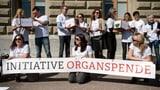 Umstrittene Organspende-Initative lanciert (Artikel enthält Video)