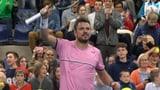 Wawrinka steht im Final von Antwerpen (Artikel enthält Video)