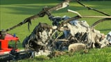 Ein Toter nach Helikopterabsturz in Herisau (Artikel enthält Video)