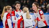 Erste Niederlage der Schweizer Curlerinnen (Artikel enthält Video)