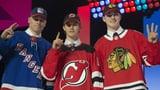 New Jersey wählt Hughes an Position 1 (Artikel enthält Video)