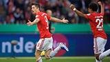 Die Bayern machen das Double perfekt