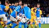 Harmloses Barcelona spielt gegen defensives Napoli 1:1 (Artikel enthält Video)