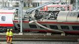 Darum entgleiste der Eurocity in Luzern (Artikel enthält Video)