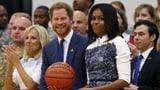 Prinz Harry und Michelle Obama: mit Glamour für Veteranen (Artikel enthält Video)