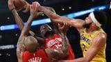 Rockets verlieren bei Capela-Comeback knapp