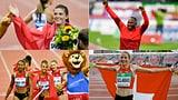 Sprunger, Wilson und Staffel-Sprinterinnen räumen ab (Artikel enthält Video)