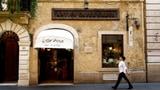 Letzte Runde in Roms legendärem Künstlerkaffee? (Artikel enthält Audio)