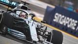 Hamilton lässt die Ferraris wieder hinter sich