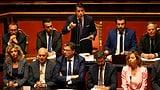 Darum geht es bei der italienischen Regierungskrise  (Artikel enthält Video)
