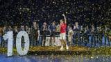 Federers Machtdemonstration im vollen «Wohnzimmer» (Artikel enthält Video)