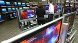Video «TV fällt vom Gestell: Wer zahlt für Schäden im Laden?» abspielen