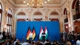 Angela Merkel bedankt sich bei Ungarn (Artikel enthält Video)