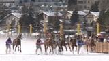 """Video «Skikjöring: Mit Skis, Vollblütern und Tempo """"Teufel"""" über Schnee und Eis» abspielen"""