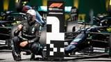 Bottas feiert Start-Ziel-Sieg – Hamilton abgestraft (Artikel enthält Video)