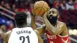 Trotz 58 Punkten von Harden: Rockets verlieren gegen die Nets