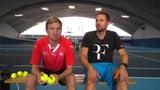 Werden Büssi und Manu Roger Federers Balljungen?  (Artikel enthält Video)